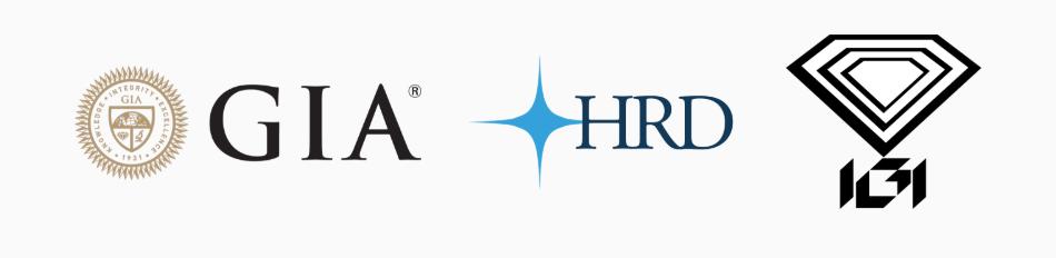 Logo GIA HRD IGI